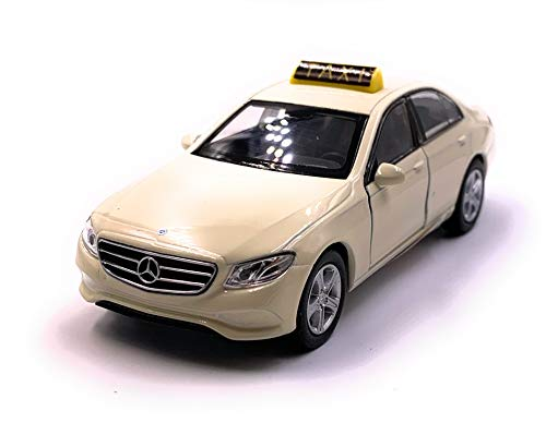 Onlineworld2013 Classe E Taxi Taxi Beige Auto Scale 1:34 (sous Licence)