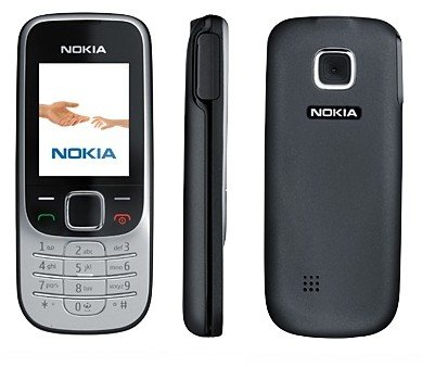 Telefono cellulare Nokia 2330 Classic Deep Black con software Branding senza Simlock