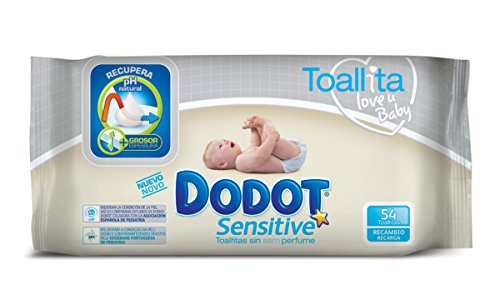 Dodot - Toallita Humeda Sensitive Reca 54
