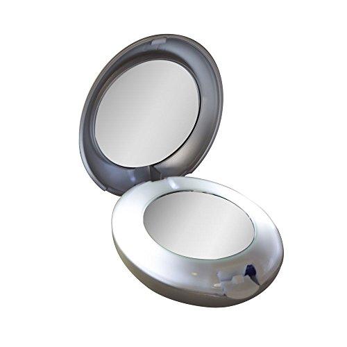 Tweezerman Rétroviseurs compacts à LED 10X/1X