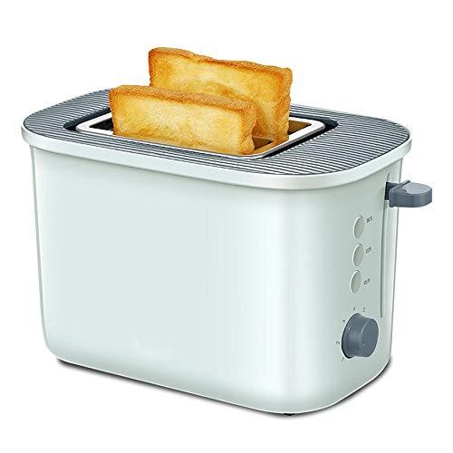 YWAWJ Feu Vert Multi-Fonctionnelle Accueil Grille-Pain 2 tranches de Double Face Petit déjeuner Automatique Machine de Toast Petit-déjeuner Grille-Pain Mini-Grille-Pain