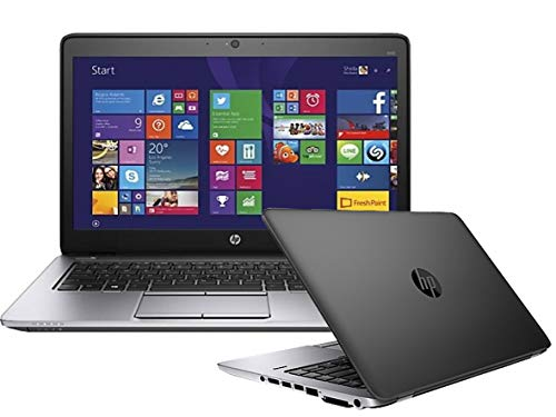HP EliteBook 840 G1 14-inch Ultrabook (Intel Core i5 4th Gen, 8GB Memory, 256GB SSD, WiFi, WebCam, Windows 10 Professional 64-bit) (Renewed)
