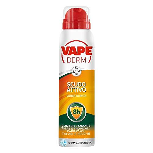 Vape Derm Scudo Attivo, Spray Repellente Multi Insetto,...