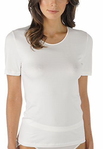Mey Basics Serie Emotion Damen Shirts 1/2 Arm, Champagner, Gr.- 40