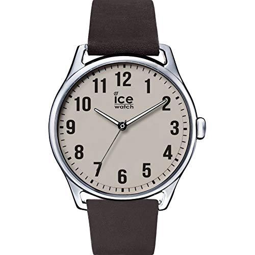 Ice-Watch Herren Analog Quarz Uhr mit Leder Armband 8431242952826