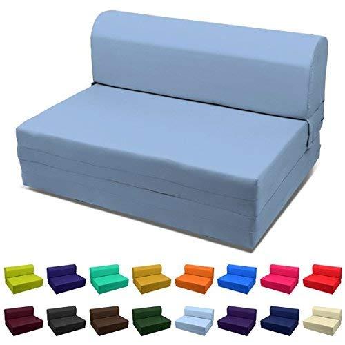 Magshion Folding Bed Mattress, Single (5x23x70), Black