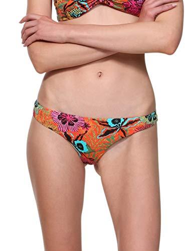 Desigual Swimwear Bottom Melina B Woman Red Bikini Slip, Rosso (Rojo Roja 3061), S Donna
