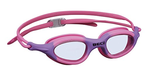 Beco Unisex Jugend Biarritz Schwimmbrille, pink/lila, One Size