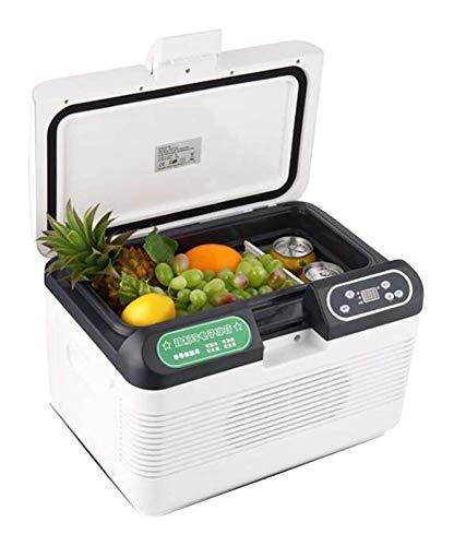 WANGLX Car Refrigerator Portable Mini Fridge for Skin Care, Electronic Cooler and Warmer 12L Dual-Core Refrigeration Mini Freezer