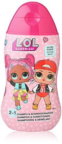 L.O.L. Surprise Champú y acondicionador 2 en 1 extra suave especial para niños 400 ml