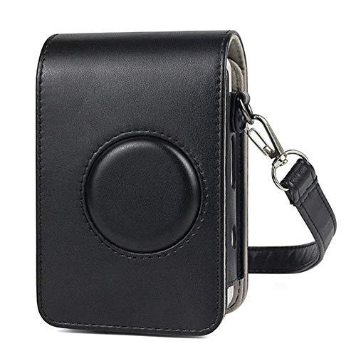 biteatey Retro Style Schultertasche, PU Leder Reisetasche Ersatz für Fujifilm Instax Mini Liplay Hybrid Sofortbildkamera mit Schultergurt