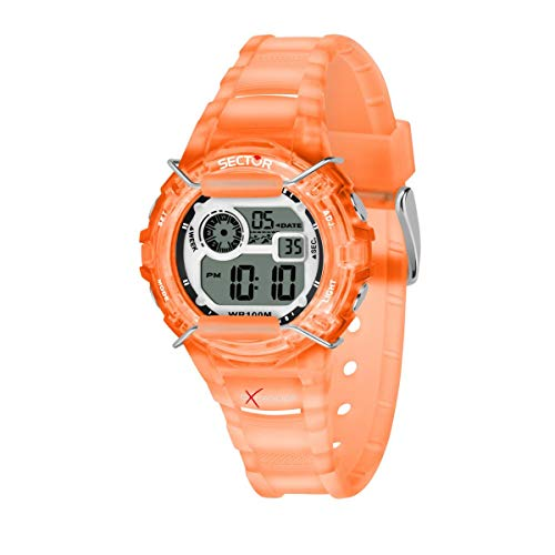 Sector No Limits Reloj Digital para Mujer de Cuarzo con Correa en Plástico R3251526002