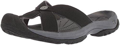 KEEN Damen BALI-W Sandale, Black Magnet, 35 EU