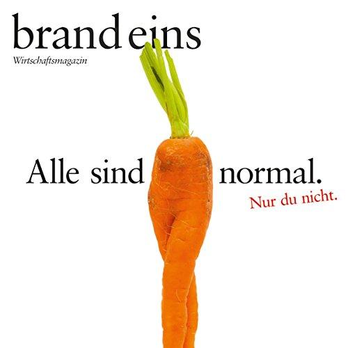 brand eins audio: Normal audiobook cover art