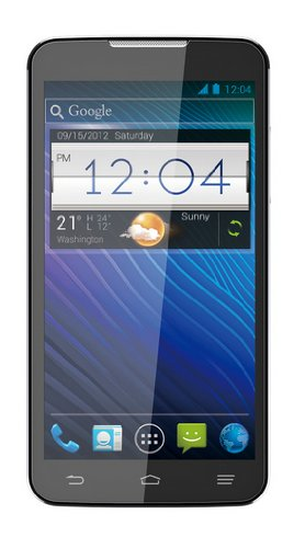 ZTE Grand Memo Smartphone (14,4 cm (5,7 Zoll) HD-Display, 1,5GHz, Quad-Core, 16GB Speicher, 13 Megapixel Kamera, Android 4.1) schwarz