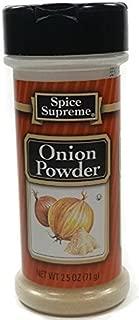 SPICE SUPREME Onion Powder 2.50 Ounce Shaker Bottle - Single