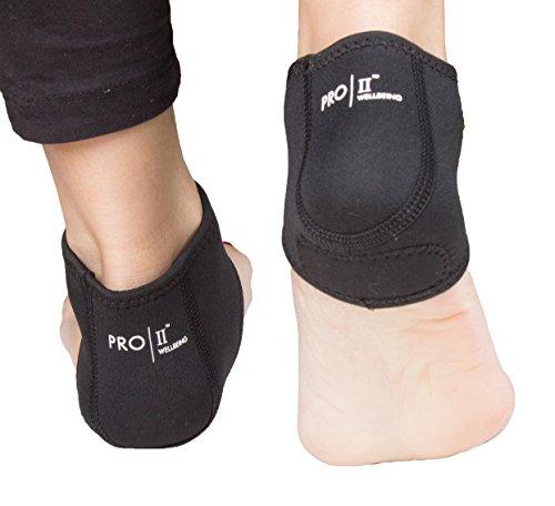 PRO11fascite plantare, con supporto per arco plantare, piede cura a compressione, meglio di notte, attenua, gonfiore e spina calcaneare, cavigliera, aumenta la circolazione, allevia il dolore veloce