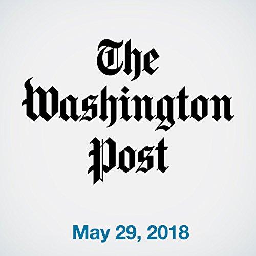 May 29, 2018 copertina