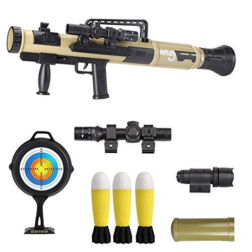 AFF Toy Blaster Wasser Bullets Gun Spielzeug für Jungen Kunststoff Sniper Soft-Paintball CS Spiele im Freien für Kinder Waffen Toy Guns,Beige