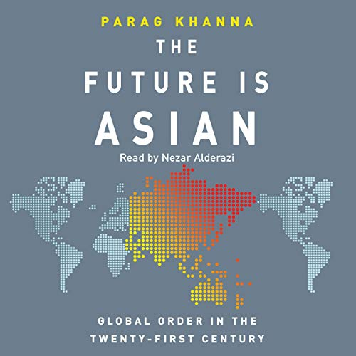 The Future Is Asian audiobook cover art
