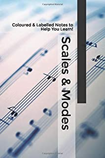 Scales & Modes: Coloured & Labelled Notes to Help You Learn!