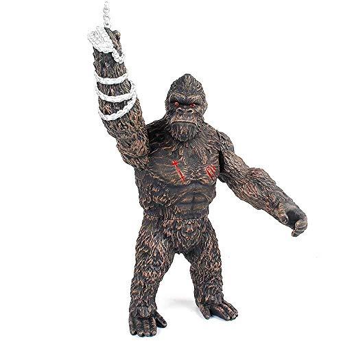 Godzilla vs Kong Toy 2021,Godzilla with Heat Wave,King Kong vs Godzilla Toys Skull Island,Gifts for Movie Fans Kid Adult-Kong