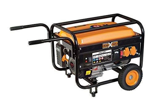Cross Tools 68035 CPG 3000 Stromerzeuger Stromaggregat Generator, 2,8 kW, fahrbar
