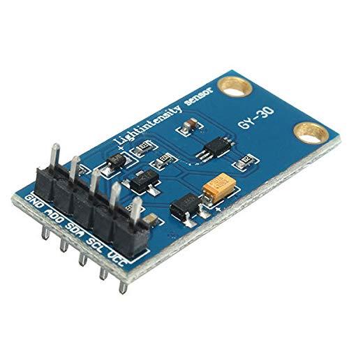 Dauerhaft GY-30 3-5V 0-65535 Lux BH1750FVI Digital Light Intensity-Sensor-Modul Geekcreit for A-r-d-u-i-n-o - Produkte, dass die Arbeit mit dem offiziellen A-r-d-u-i-n-o-Boards 10pcs Leicht zusammenzu