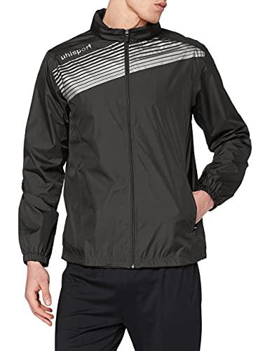 uhlsport Bekleidung Teamsport Liga 2 Regenjacke, schwarz/Weiß, XL