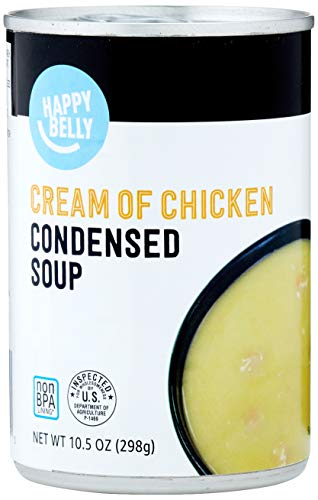 Amazon Brand - Happy Belly Cream of Chicken Soup 10.5 Ounce