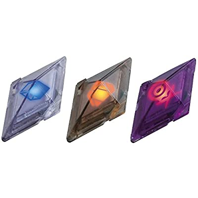Bizak Pokémon - Pack de 3 Cristales Z-Ring, Fantasma/Insecto/Diablo 30699210 de Bizak