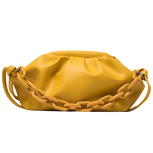 SeOSTO Women's Foreign Style Small Cross Dumpling Chain Handbag,Available in a variety of colors