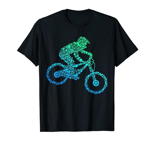 Downhill Mountainbike Biker MTB Jungen...