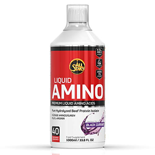 All Stars Amino Liquid, Schwarze Johannisbeere, 1er Pack (1 x 1000 ml)