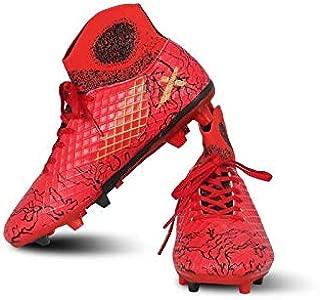 Vector X Jaguar Football Shoes (Red-Black)
