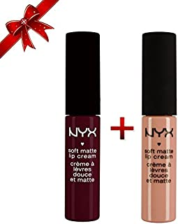 NYX Soft Matte Lip Cream Set of 2: Cairo & Copehagen