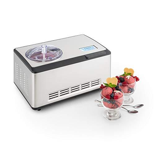 Klarstein Dolce Bacio - Machine à crème glacée,...