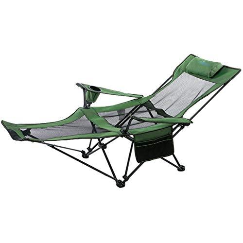 Sillas de Playa, Portátil Malla for sillas de Senderismo con la Copa de Bolsillo Holder y Fuerza de sustentación Armres 120-150KG