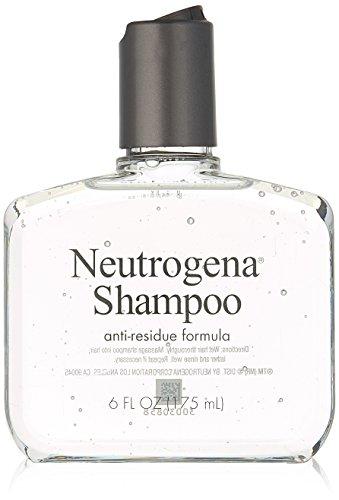 Neutrogena Anti-Residue Shampoo, Gentle Non-Irritating Clarifying Shampoo to Remove Hair Build-Up & Residue, 6 fl. oz (Pack of 2)