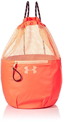 Girl's Under Armour Girls' Bucket Bag,Black, After Burn (877)/Peach Horizon, One Size