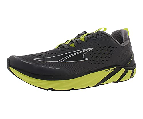 ALTRA Men's Torin 4 Road Running Shoe, Gray/Lime - 13 M US