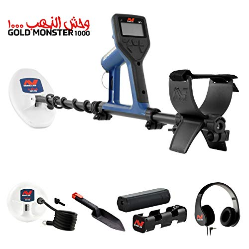 Minelab Gold Monster 1000 Universal Metal Detector with 2 Search Coils, Waterproof Detectors Metal