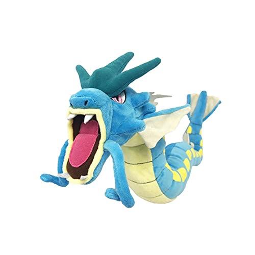Carpa explosiva dragón animación Juguete de Peluche Grande Carpa Rey muñeco de Peluche se Puede Dar Forma de Juguete de Felpa Regalo para niños 58 CM Azul