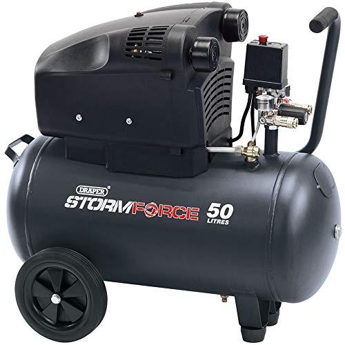 Draper 81710 50L 230V 2.4HP (1.8KW) V-Twin Air Compressor