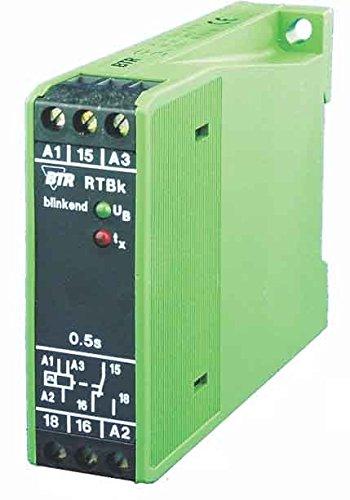 Metz Connect Zeitrelais, blinkend RTBK-E10 230AC/24UC 0,5S Zeitrelais 4250184121466