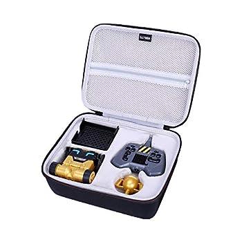 LTGEM EVA Hard Case for Really Rad Robots - Mibro Gold - Plays Talks and Pranks