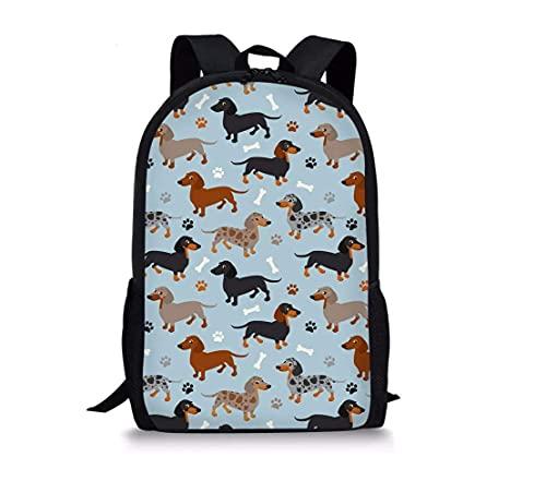 Mochila para niños con estampado de animales en 3D, bolsa escolar para adolescentes, adultos, estudiantes, senderismo, mochila