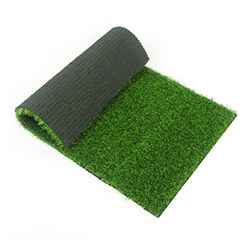 Rasen Kunstrasen Balkon Kunstrasen Aus Grünem Kunstgrasdekorteppich Aus Kunststoff Künstliches Grünes Pflanzenmattengras Im Freien (Size : 2X0.5M)