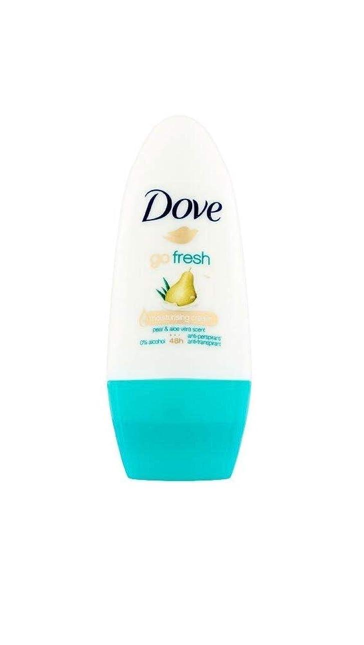 ドーブ新鮮になるナシ、アロエベラ香り制汗剤デオドラントロール女性の為に - Dove Go Fresh Pear & Aloe Vera Scent Anti-perspirant Deodorant Roll On for Women 50ml