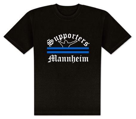 World of Football T-Shirt Supporters-Mannheim - M